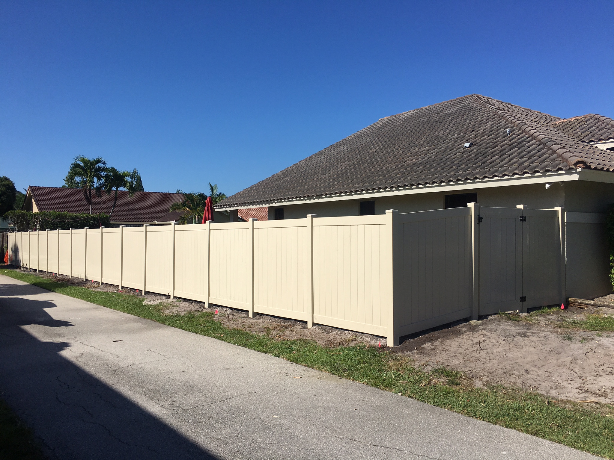 sunrise fl pvc fencing